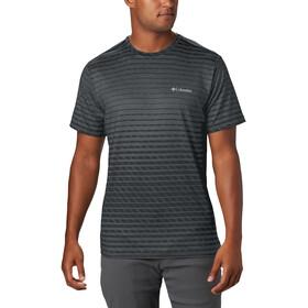 Columbia Tech Trail Print T-shirt Col ras-du-cou Homme, black ombre print